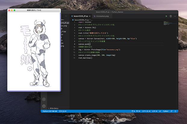 プログラミングコードの画像